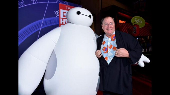 """It\s not technology that entertains audiences - it\s the story.\"" Happy Birthday John Lasseter, 58 today!"