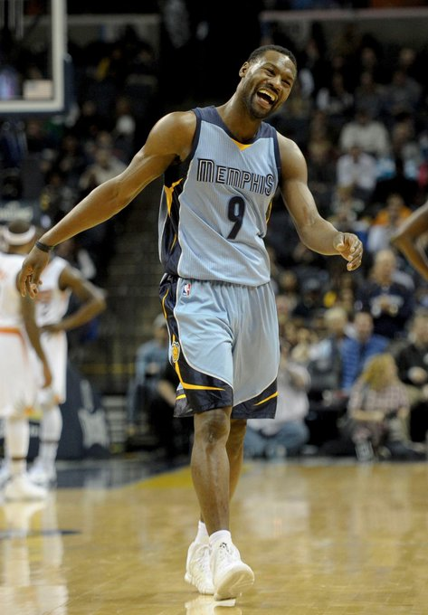 Grizzlies win 122-110 in double OT against Phoenix on Tony Allen\s 33rd birthday. Happy birthday, Tony!