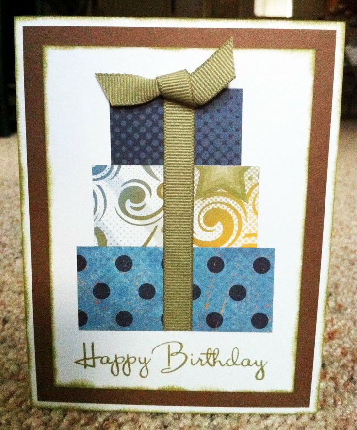 Как сделать открытку на день рождение парня 41