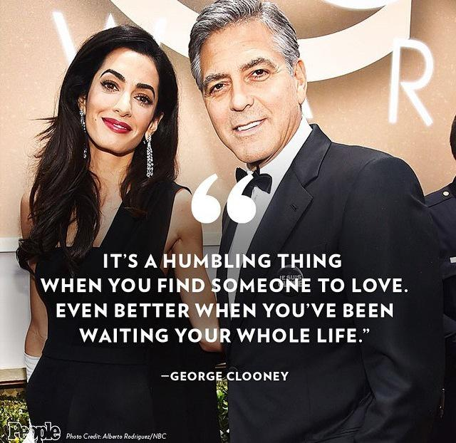 Every woman's heart melted when George Clooney gave his acceptance speech!