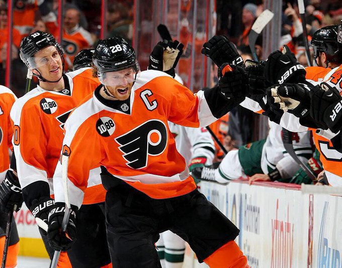 Happy birthday to the captain of the Philadelphia Flyers, Claude Giroux