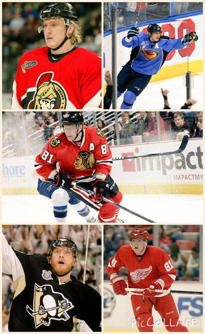 happy 36th birthday to my favorite hockey player of all time Marian Hossa. You will forever be