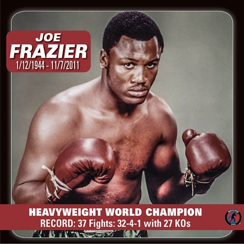 Happy Birthday to Smokin\ Joe Frazier, who would have turned 71 today!