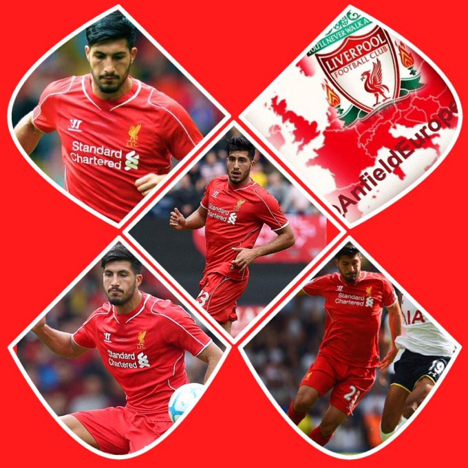 Emre Can. 21 today. Happy birthday lad! Massive future ahead of you!