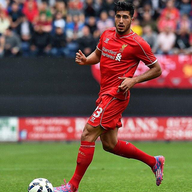 Happy Birthday to Liverpool FC midfielder Emre Can who turns 21 today!