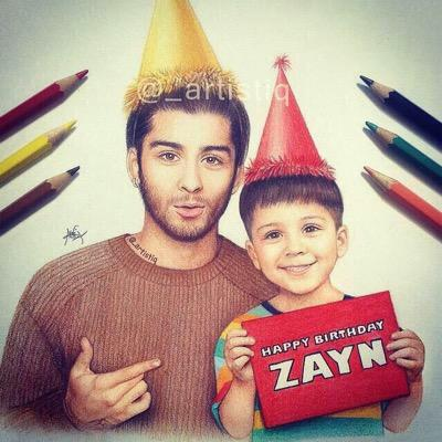 HAPPY BIRTHDAY ZAYN MALIK!!!! I LOVE YOU