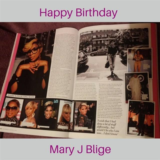 Happy Birthday Mary J Blige! In the music business years & still strong & beautiful!  I love how she s changed he...