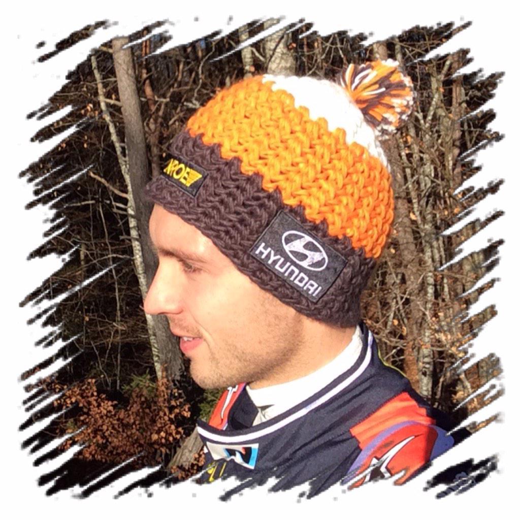 nicolasgilsoul vous fait gagner son bonnet Hyundai WRC C\u0027est très