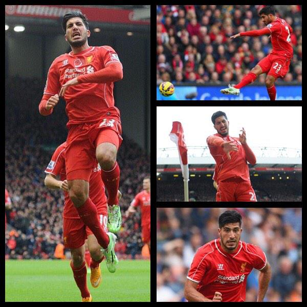 """ On behalf of every fan, I\d like to wish Emre Can a very Happy 21st Birthday.  same b-day"