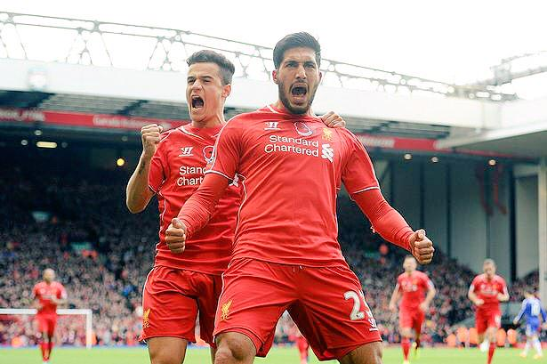 Happy birthday to our midfield monster, Emre Can. Bright, bright future ahead of him at LFC.