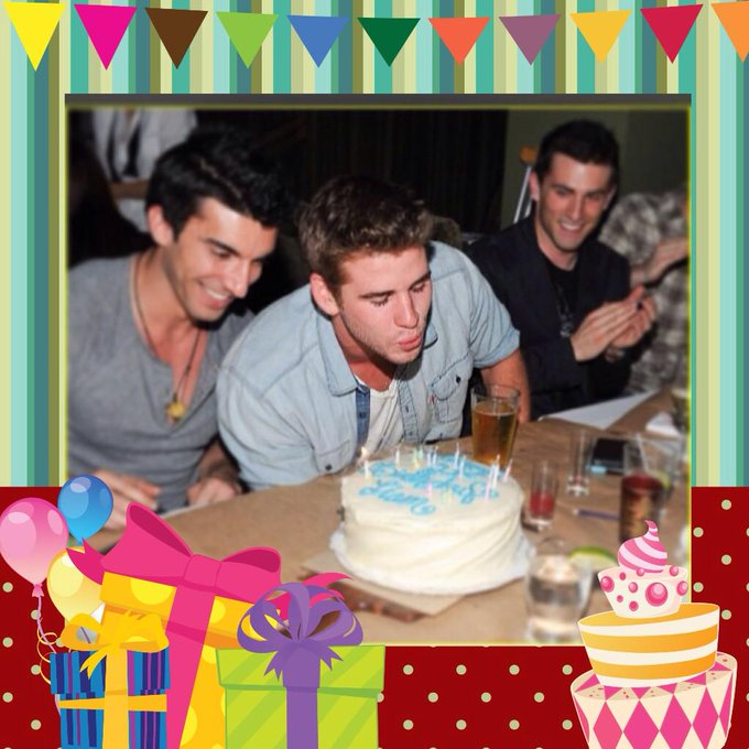 HAPPY BIRTHDAY MY FUTURE HUSBAND LIAM HEMSWORTH!! AGGHH LIYUMM WHY SO HANDSOME??