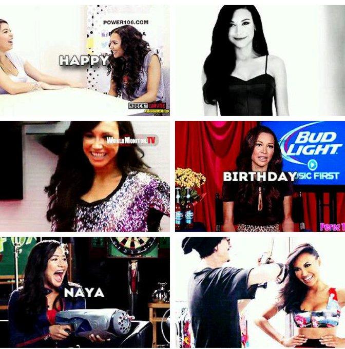 Happy Birthday Naya Rivera i love you