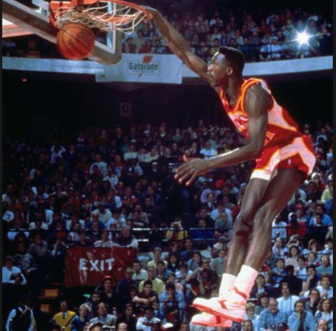 Happy Birthday to The Human Highlight!!!! Time flys, literally. Dominique Wilkins, Slam Dunk King.