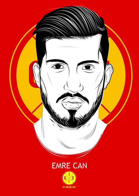 Happy Birthday to Emre Can who turned 21 today.