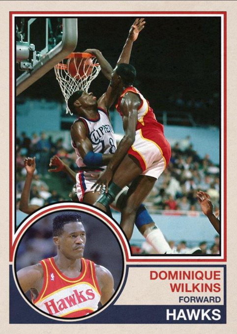 Happy 55th birthday to Dominique Wilkins, dunking over Derek Smith (sorry on 11/9/85.
