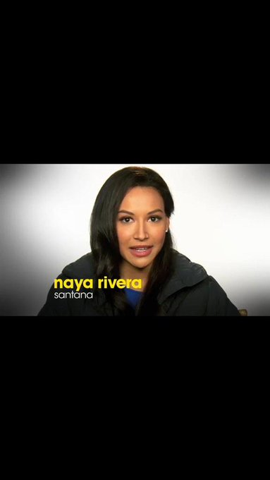 """Because of Glee we have made a difference in people\s lives\"" - Naya Rivera   Happy Birthday"