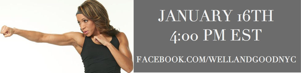 We're chatting workout motivation tips with @radiusfitness Master Trainer @Basheerah_Ahmad on 1/16. Tune in! http://t.co/g0F0357Q5b
