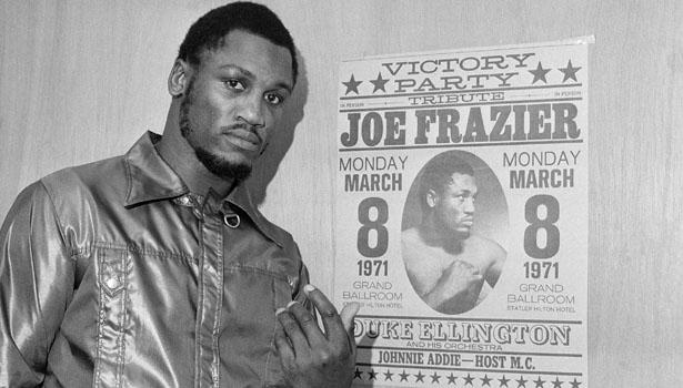 "Remembering a legendary boxer, who died of cancer at age 67 All Time Great ""Smokin\"" Joe Frazier  Happy birthday champ"