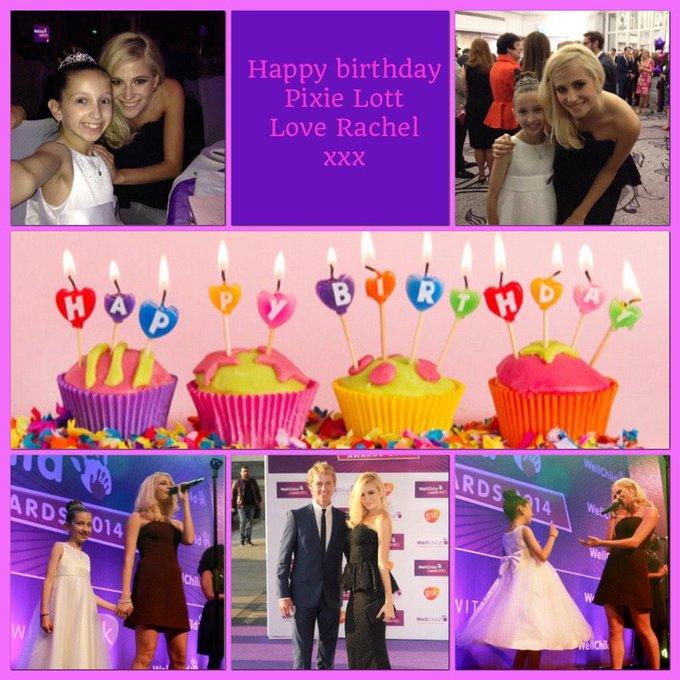 a massive Happy birthday to you Pixie Lott      love Rachel xxx