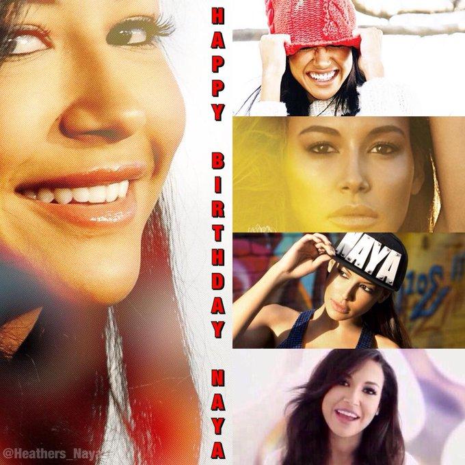 Happy birthday Naya Rivera! QT  & I hope you have the most wonderful birthday this year!