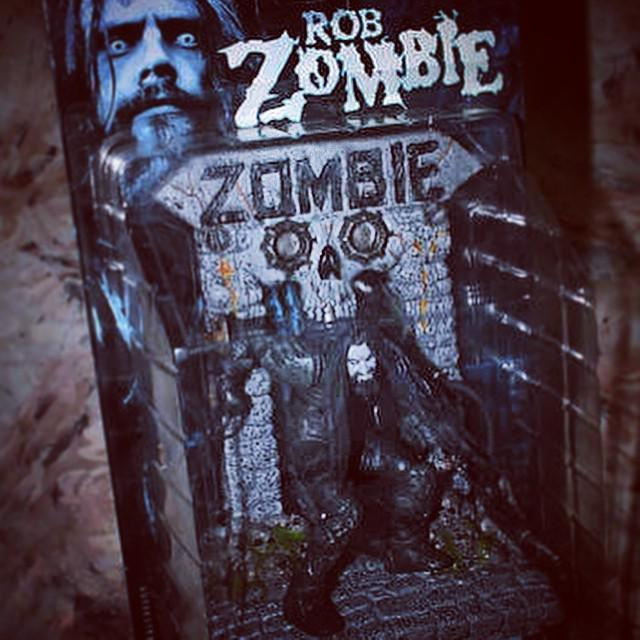Today is Rob Zombie s birthday (happy birthday!) and I d like to give him this action fi...