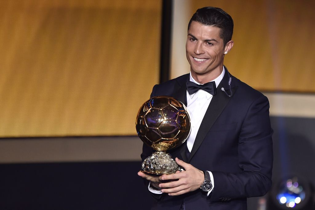 Congratulations to @Cristiano, who beats Lionel Messi and Manuel Neuer to win a third Ballon D'Or. http://t.co/kAzcPazqGy