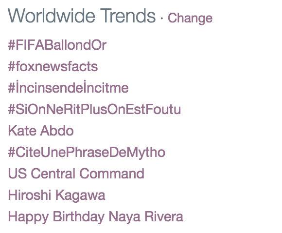 1. Happy Birthday Naya Rivera 2. Naya Is Our Birthday Queen  We Love You