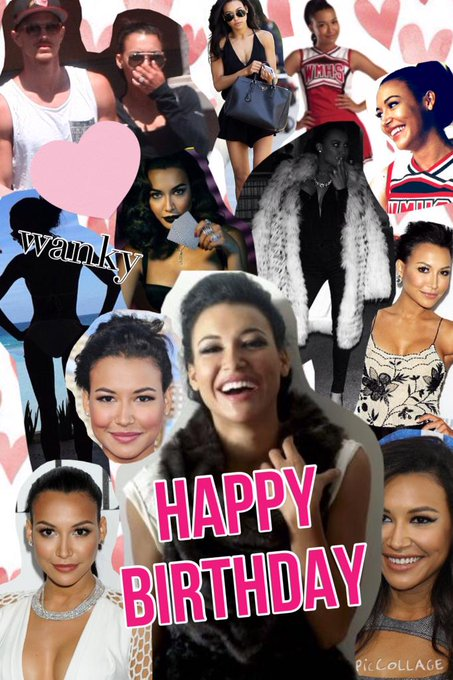 happy birthday to the one and only Naya Rivera