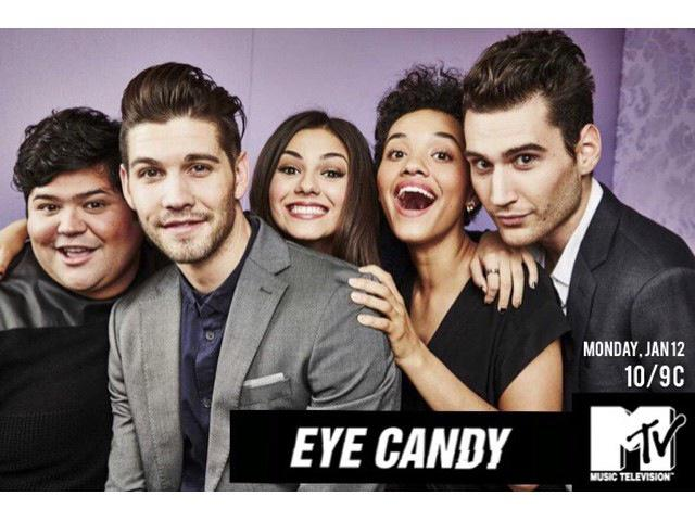 My bro @HARVEYGUILLEN 's new show #EyeCandy premieres tonite on MTV! Can't stop with the exclamations!! Too excited!! http://t.co/tEJz6JQj0j