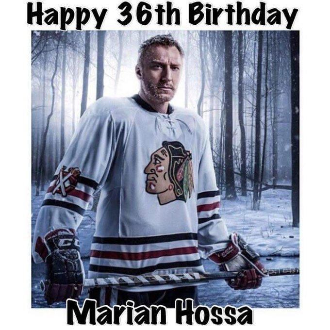 Happy birthday Marian Hossa .