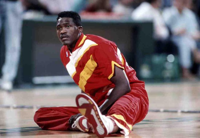 Happy birthday to one of my idols in life Dominique Wilkins
