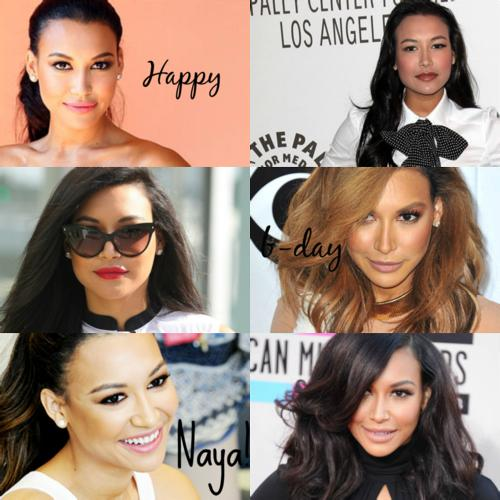 We\ll always love Naya Rivera  Happy Birthday my little angel sent from heaven above!