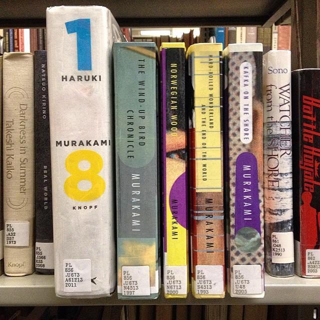Happy 66th birthday to Haruki Murakami! Do you have a favorite Murakami?