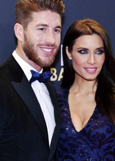 Sergio Ramos' girlfriend Pilar Rubio was a big hit at the ...