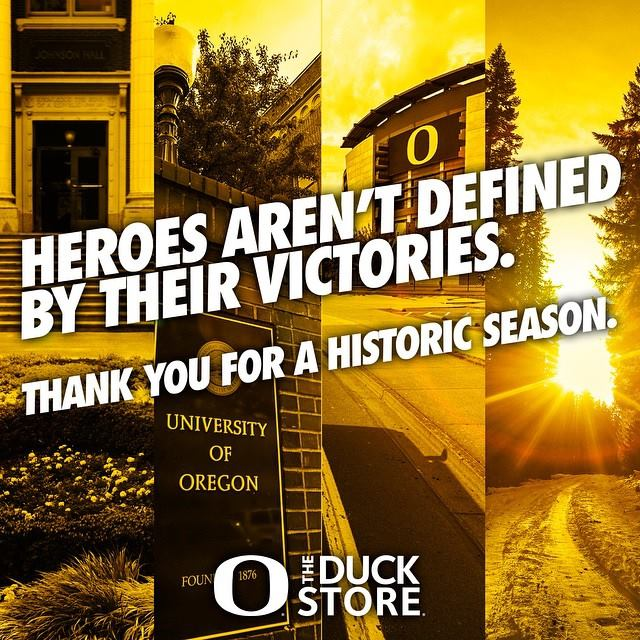 What a season it was. Thank you, Ducks — we're proud of all you accomplished this year! #GoDucks http://t.co/jJKsLdJ4a5