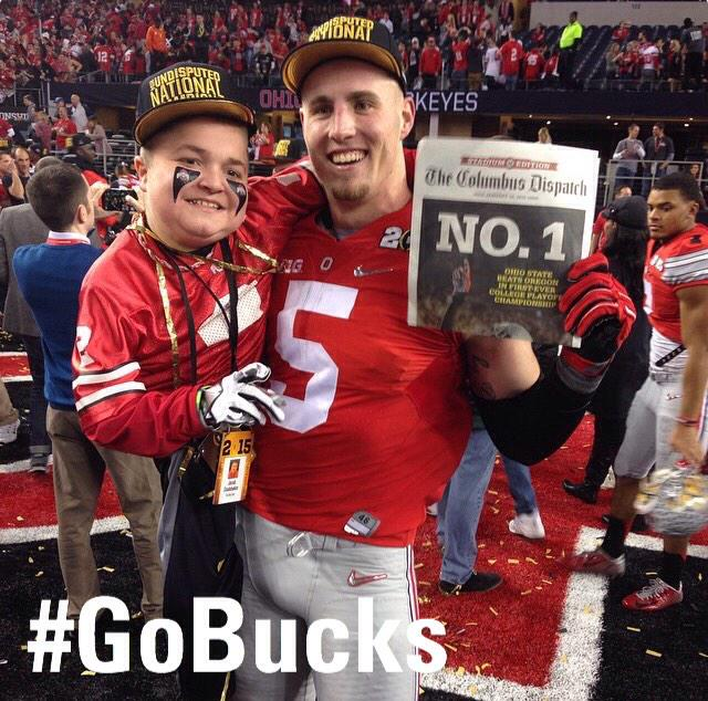 Jacob Jarvis & @JHeuerman86 are NATIONAL CHAMPIONS! #GoBucks http://t.co/t4QZ9bLH27