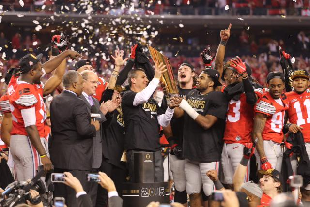 Tonight, we made history. Congrats, Buckeyes! #GoBucks http://t.co/fcvc2cTtQm