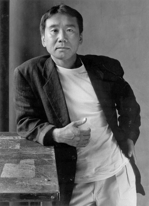 Happy birthday to one of my gods, haruki murakami.