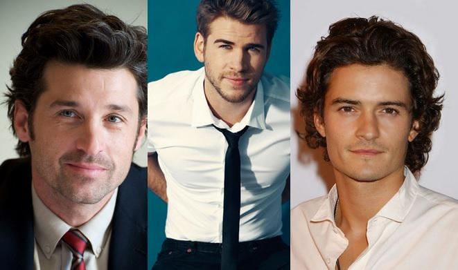Happy Birthday to a few hotties. Patrick Dempsey(49),  Orlando Bloom(38) and Liam Hemsworth(25).