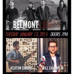 RT @keatonsimons: #LA! Tonight's the night. Whisky A Go Go with @willchamplin and @Belmont_Lights. 8pm. See you there!! http://t.co/dboKVuO…