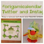 Image of origamicalendar from Twitter