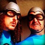 Hey, kids!  It's Dress-Up-Like-An-Aquabat Tuesday! http://t.co/yiDzGAvs9v