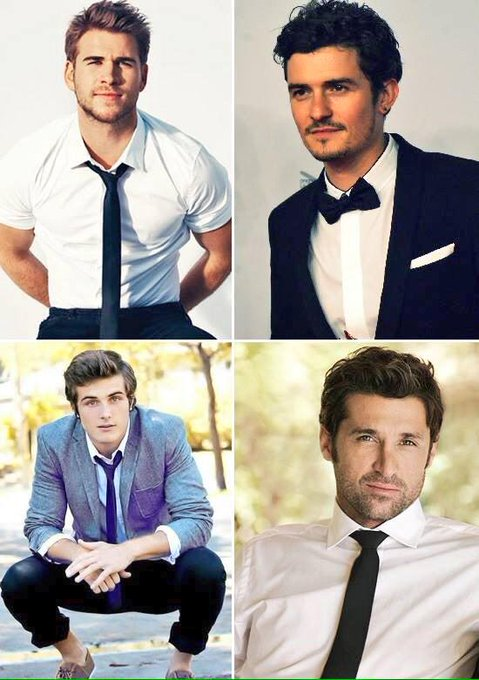 Múltiple cumpleaños: Liam Hemsworth, Patrick Dempsey, Beau Mirchoff y Orlando Bloom. Happy birthday!