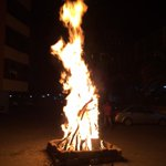 Lohri celebrations at my residential complex