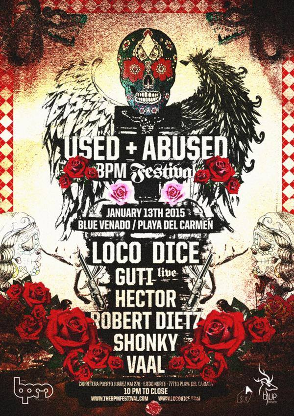 Tonight it's all about @UsedAbusedOFC at @TheBPMFestival with @LocoDiceOFC , @guti_desolat , @Hector_Desolat http://t.co/0gzvgIMTQF