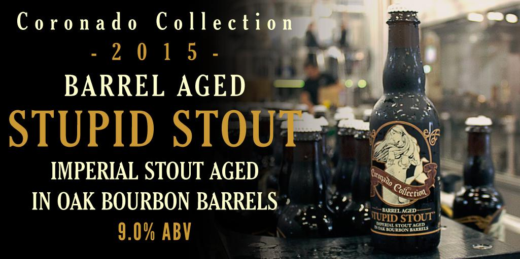 "Caught this ""Barrel Aged Stupid Stout"" on the bottling line this morning! #craftbeer #mermaidsighting http://t.co/0NhZBBpj9K"
