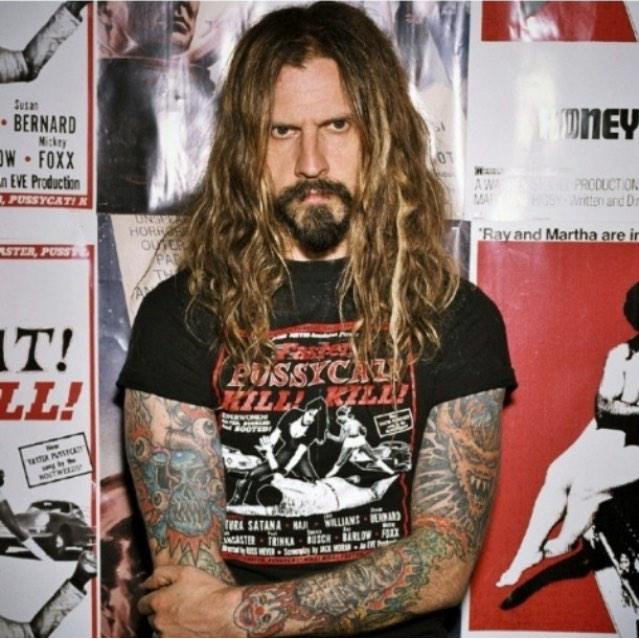 Idk if I posted about this on message yesterday but happy birthday rob zombie  \\m/