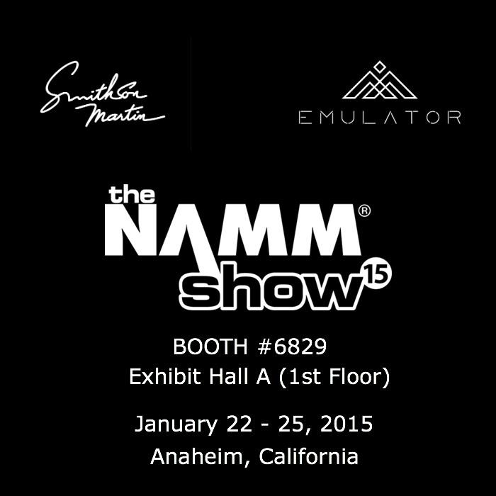 We invite YOU to the @NAMMShow Jan 22 - 25 in Anaheim, California to BOOTH #6829 #EmulatorLife http://t.co/gTkcSmlu39