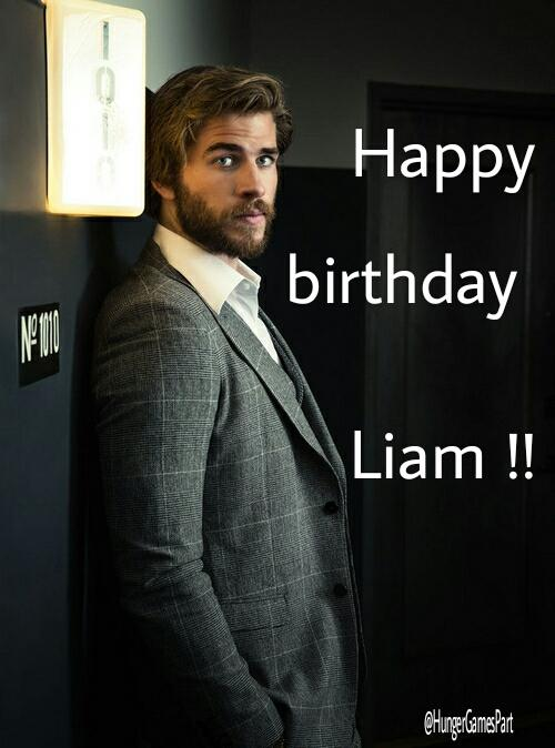Happy 25th Birthday Liam Hemsworth