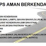 Pagi Yogyakarta... Tips aman berkendara .. http://t.co/NsM6tP2eWt by @polresjogja